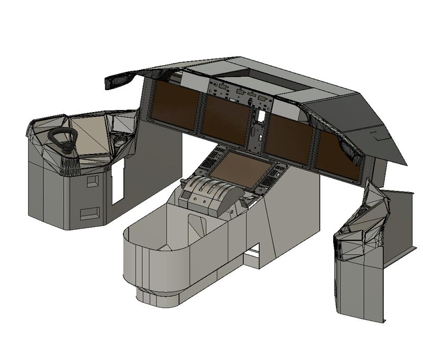 787 Dreamliner simulator